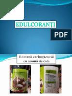 Edulcoranti, produse