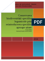 Manifestarea Biodiversitatii Legumicole - Bobul(Vicia Faba)