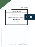 Tm 5-272 1942 Steel Treadway Bridge Equipage