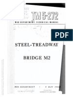 TM 5-272 1944 STEEL-TREADWAY BRIDGE M2