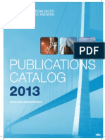 ASCE Publications Catalog 2013