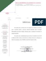 BVL - Edital - Eleições - 12-05-2014