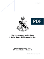 constitution  bylaws 2012 approved