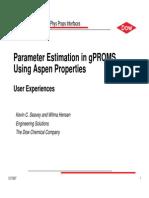 parameter estimate