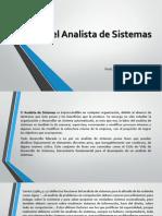 El Rol Del Analista de Sistemas- Clase I
