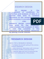 Research Design New