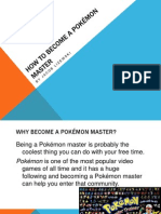 how to become a pokmon master