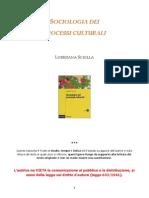 sociologia dei processi culturari