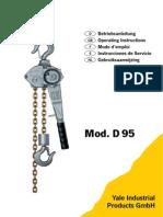Polipasto Manual