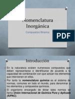 Compuestos Binarios Q. Aplicada