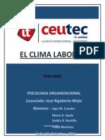 Clima Laboral Informefinal