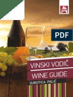 Wine Guide - Subotica Palić - Vinski Vodič