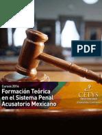 CURSO - Formacion Teorica en El Sistema Penal Acusatorio Mexicano- CETYS