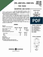 6SN7 Datasheet