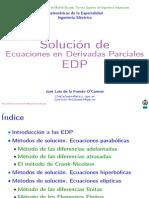 Clase Solucion Ecuaciones Derivadas Parciales 2013