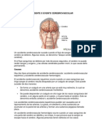 Accidente o Evento Cerebrovascular