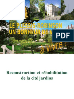 Transformation urbaine au Plessis-Robinson