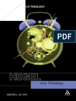 Hegel and Theology