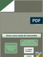 Tema 1 Dinero Mercado