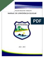 Manual de Convivencia Actualizado a Marzo de 2014
