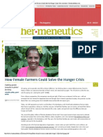 2014-04-15 How Female Farmers Could Solve the Hunger Crisis | Christianity Today