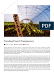 2014-03-14 Trending Toward Transparency | The Curator