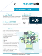 Master Comunicacion Marketing Online