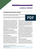 Preimplantation Genetic Testing BMJ 2012 Bmj.e5908.Full