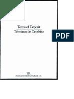 SIBL Terms of Deposit