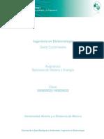 Unidad 1. Balance de Materia-Energi a y La Ingenieri A