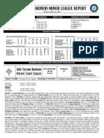 05.12.14 Mariners Minor League Report