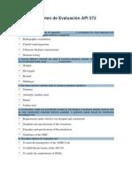 Examen de Evaluación API 572
