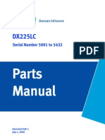 Doosan DX225LC Parts Book