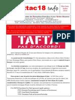 2014 03 Attac18 Info 2014 Mai Juin Juillet