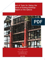 Assessment of Tools for Rating the Perfomrance of Existing Buildings