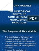 History Module