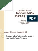 Module 3,Lesson 2