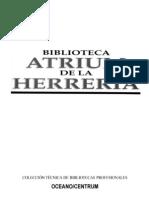 Biblioteca Atrium de La Herreria - Tomo 1