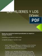 3ro Las Mujeres y Los Ddhh Nic