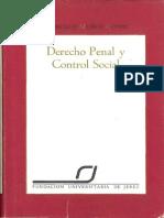 MUÑOZ CONDE Derecho Penal y Control Social