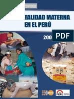 MINSA Mortalidad Materna Peruword