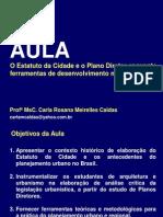 O Estatuto da cidade e o Plano Diretor