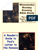 A Reader's Guide to Romans 2009