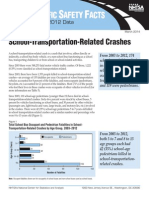 U.S. Department of Transportation School-Transportation-Related Crashes 2003-2012