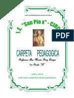 CARPETA PEDAGOG 2013