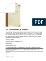 The Story of Mattie J. Jackson