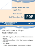 Using Composites in Pulp Paper Applications