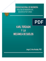 5. Karl Terzaghi y La Mecánica de Suelos