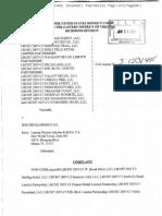 Complaint Against Wsg Development Co