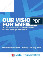 Enfield Conservative 2014 Manifesto